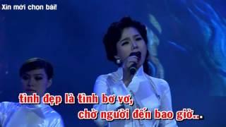 [ Karaoke ] Chờ người