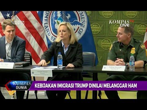 Kandidat Presiden AS Nilai Kebijakan Imigrasi Trump Telah Melanggar HAM