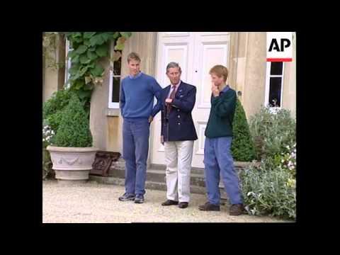 UK: PRINCE WILLIAM & PRINCE HARRY AT HIGHGROVE (2)