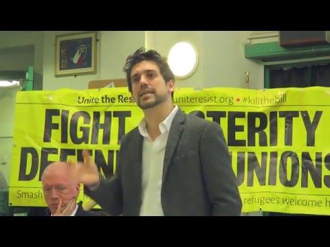 Unite the Resistance - Solidarity Meeting - 23 Jan 2016