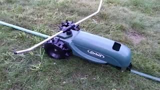 Orbit 58322 Traveling Sprinkler Performance test