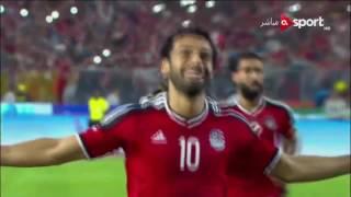 مصر وغانا 2-0 بتعليق مدحت شلبي