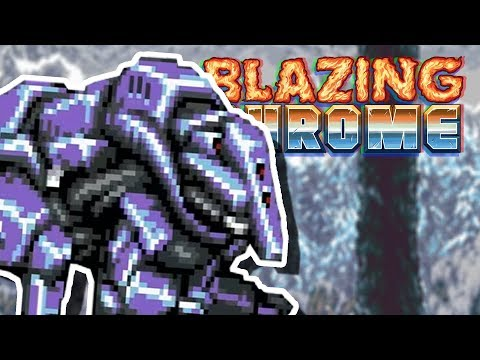 INTO THE ENEMY BASE! | Blazing Chrome Stage 5 |
