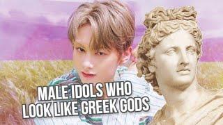 6 Male Kpop Idols Resemble GREEK GODS Beauty