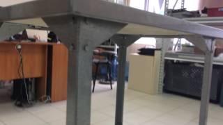 видео столы производственные из нержавеющей стали