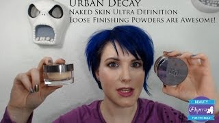 Urban Decay Naked Skin Ultra Definition Loose Finishing Powders