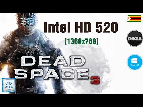 Dead Space 3[MAX SETTINGS]-1366x768- intel hd 520 Dell Vostro 3559 i5 6200U