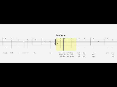 Guitar Tab - Just Give Me A Reason - Slow - Beginner - Play Along