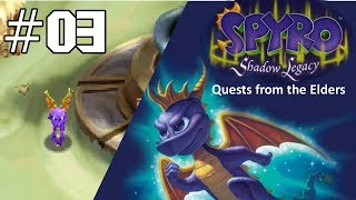Spyro: Shadow Legacy #3 - Saving the Moneybags Family + Quests! [NDS, 2005]
