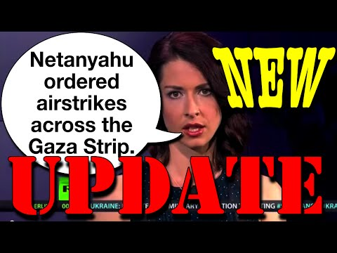 Israeli Airstrikes on Gaza Strip UPDATE VIDEO