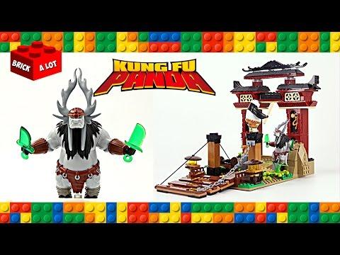 Lego Kung Fu Panda 3 The Final Battle W Po Kai Unofficial Set Speed Build Youtube