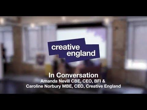 Be More Leeds: Amanda Nevill and Caroline Norbury In Conversation