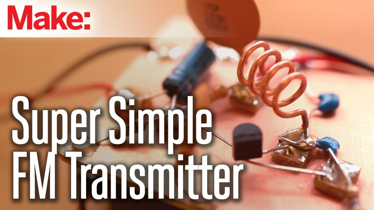 Weekend Projects Super Simple Fm Transmitter Youtube Circuit Diagrams Hobby Circuits Electronics Parts