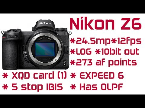 The Nikon Z6 Is Amazing Value (vs Sony A7iii)