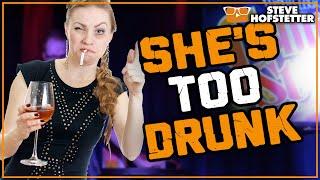 Comedian Vs. Drunk Woman - Steve Hofstetter