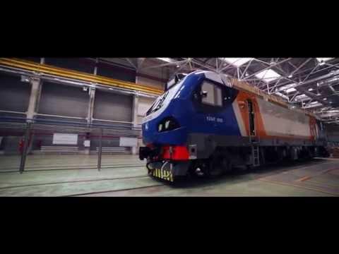 Electric locomotives assembly factory EKZ Astana Kazakhstan