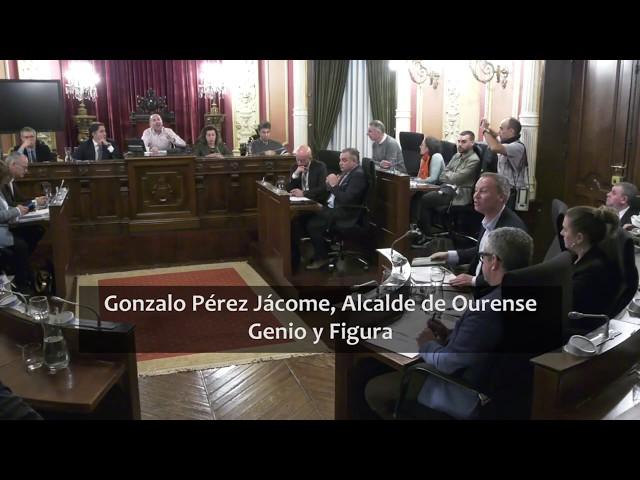 Momento estrella de Gonzalo Jácome,  Alcalde de Ourense
