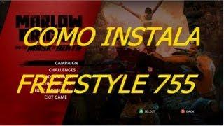 COMO INSTALAR FREESTYLE 775 NO XBOX360,JTAG/RGH
