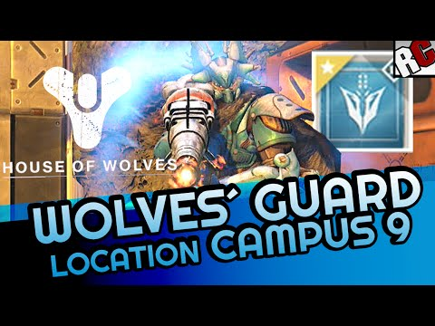 Destiny WOLVES GUARD Bounty Location Guide -  Campus 9 location on Venus