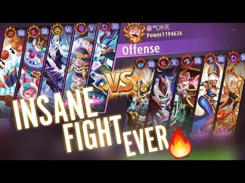 Magic Rush: Frost Team Vs Edwin Team | Insane Fight Ever | Snow Owl Deals Massive Damage 🔥