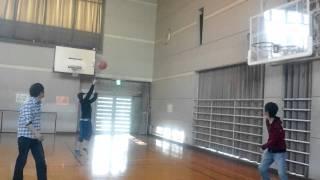 放課後のバスケ(^o^)