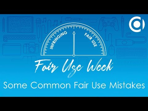 Some Common Fair Use Mistakes