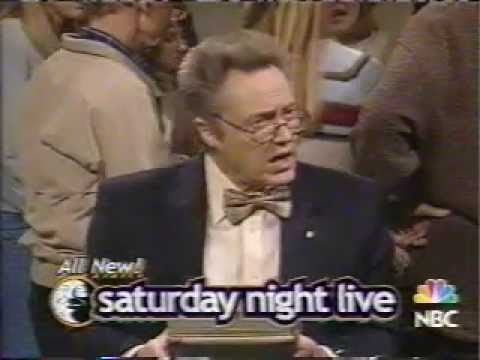 Saturday Night Live - Christopher Walken, Foo Fighters dress rehearsal promo