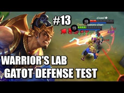 WARRIOR'S LAB #13 GATOT THE UNKILLABLE TANK TEST