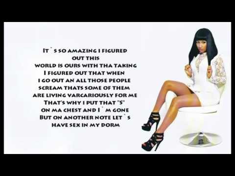 ever had lyrics nicki minaj drake remix