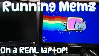 Memz Trojan on a REAL COMPUTER + repairing it!