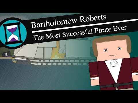 Bartholomew Roberts: The Most Successful Pirate Ever - History Matters (Short Animated Documentary)