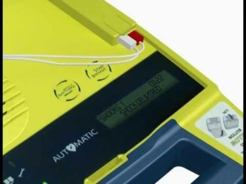 AED defibrillator Powerheart G3 Plus Automatic - User Demo - Cardiac Science