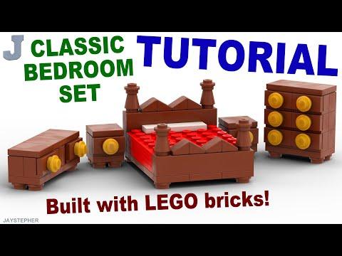 Tutorial Classic Lego Bedroom Set Cc