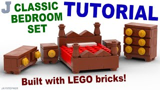 Tutorial - Classic Lego Bedroom Set [cc]