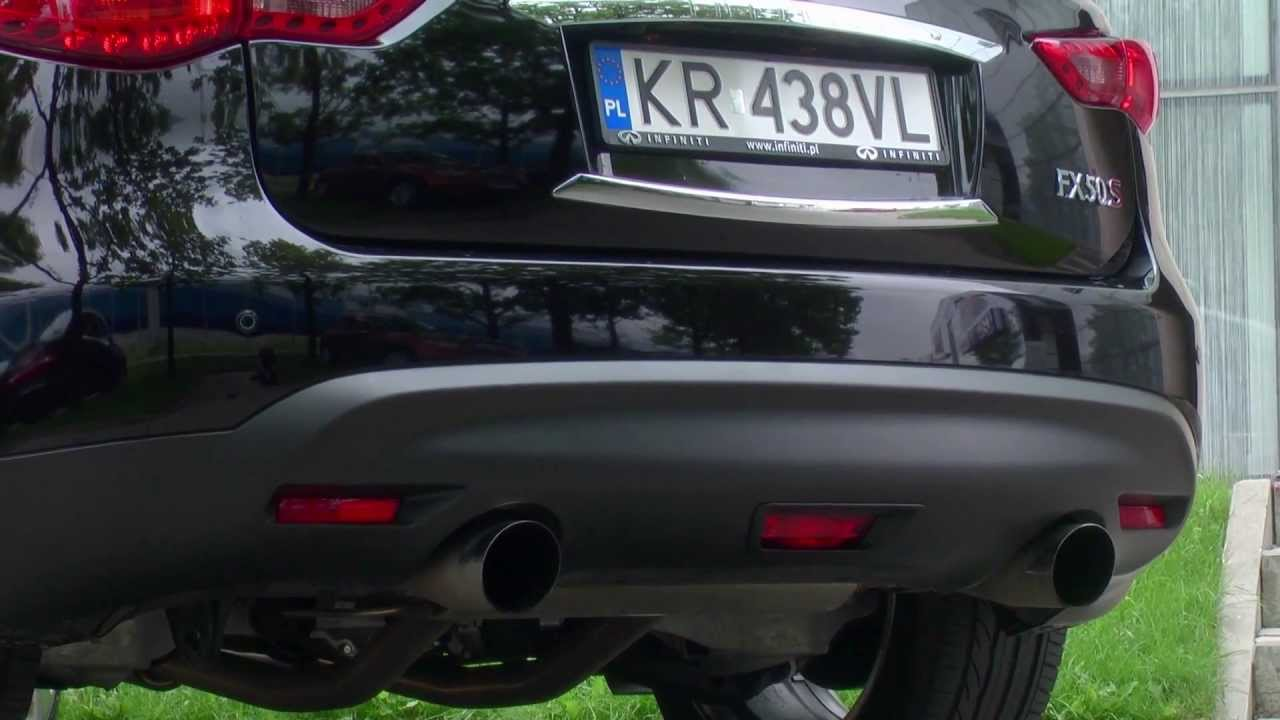 Infiniti fx50 2013 special exhaust system sound youtube infiniti fx50 2013 special exhaust system sound vanachro Images