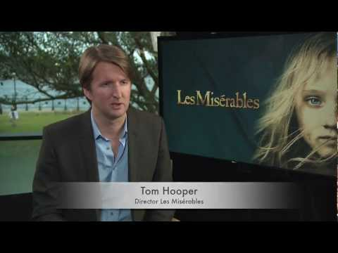 Interview with Tom Hooper, director of Les Misérables