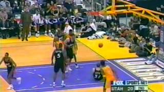 Utah Jazz @ Lakers, 2000 (old fashioned thrashin)