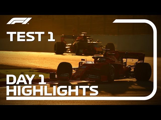 Day 1 Highlights | F1 Testing 2019