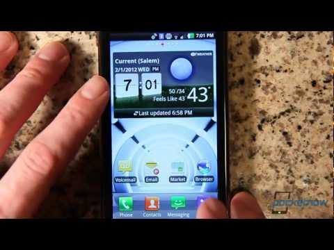 LG Spectrum from Verizon Software Tour