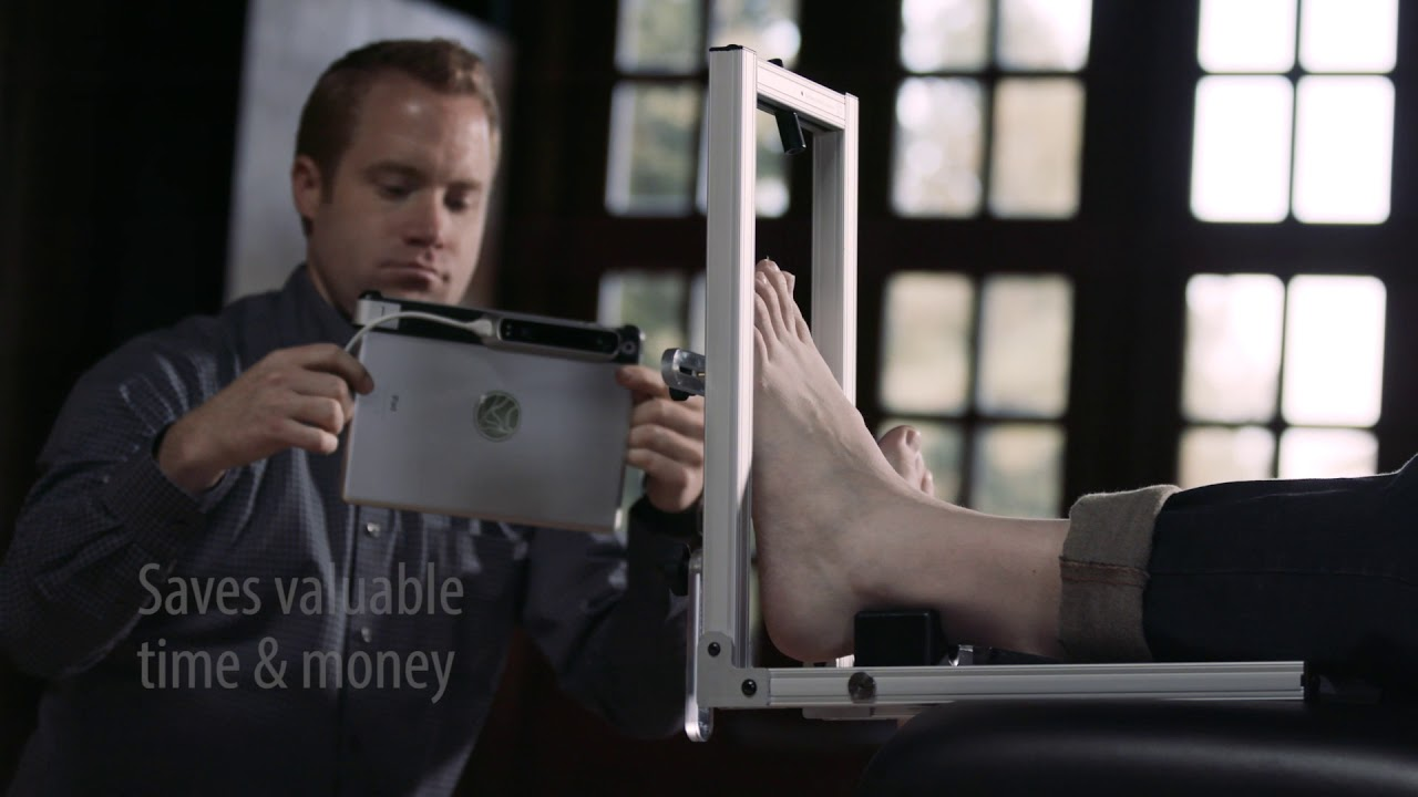 SmartCast™ foot scanning technology by Northwest Podiatric Laboratory