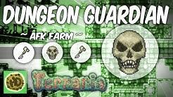 Terraria AFK Dungeon Guardian Farm | Get the Bone Key! (1.3 bosses, baby skeletron head!)