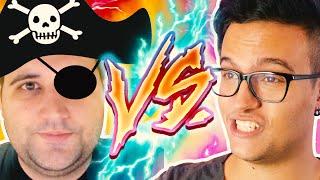 TEAM DAMENES vs TEAM PIRATAS - Overwatch Ranked || Jogando com Damiani ft. Davy Jones & Piratas