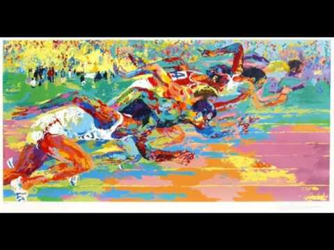 LeRoy Neiman 勒羅伊.內曼 (1921-2012) Expressionism Pop Art American
