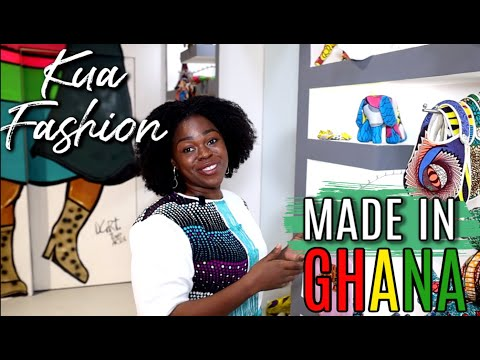 MADE IN GHANA FASHION | RETURNING TO GHANA FROM USA | KUA DESIGNS