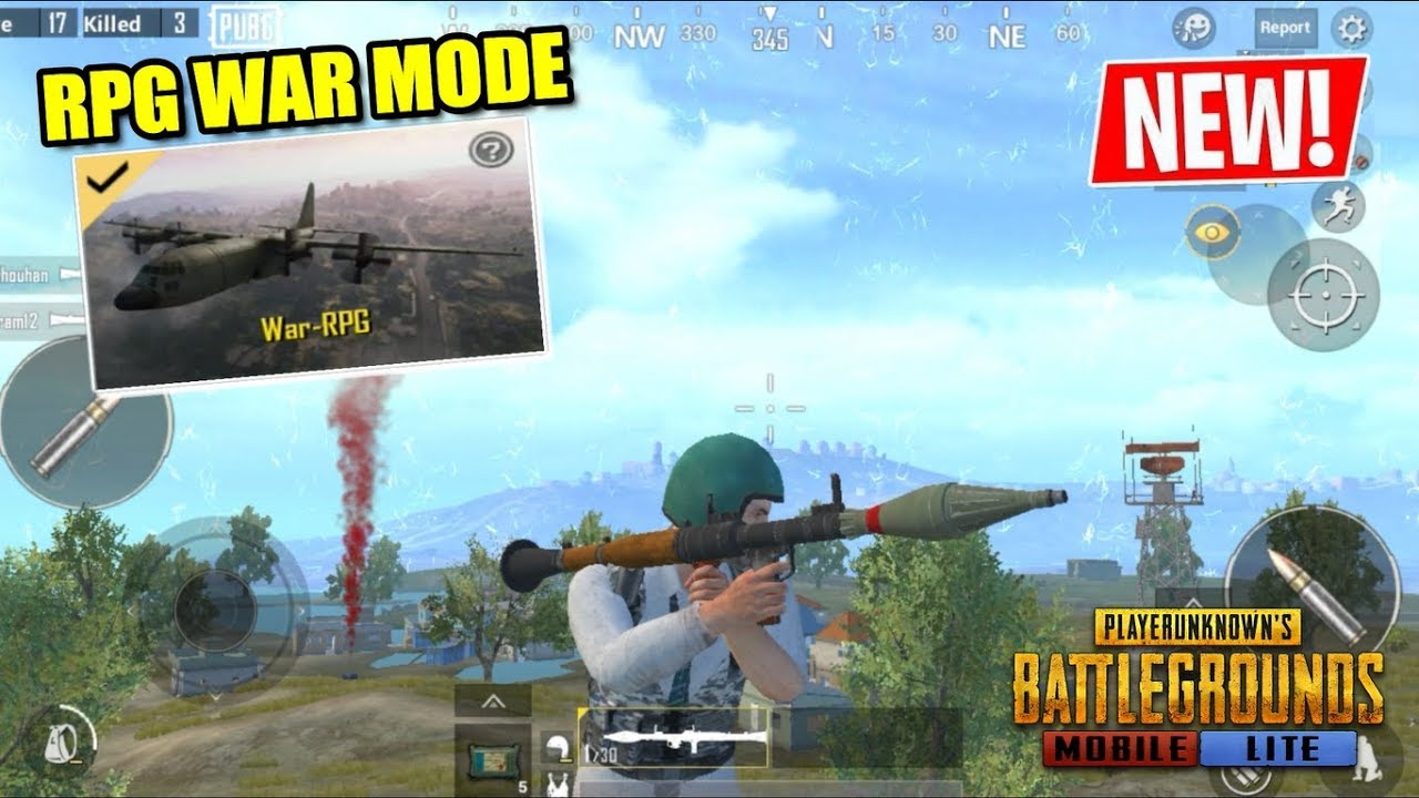 PUBG MOBILE LITE - NEW RPG WAR MODE UPDATE GAMEPLAY (ANDROID) HD