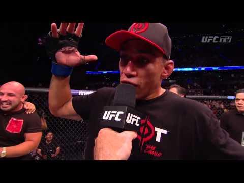 UFC 188: Werdum and Velasquez Octagon Interview