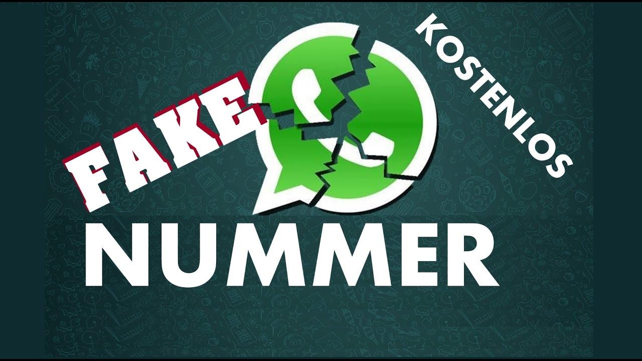Handynummer online erstellen fake Mit Fake