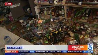 Ridgecrest Liquor Store Damaged from 7.1 Magnitude Earthquake