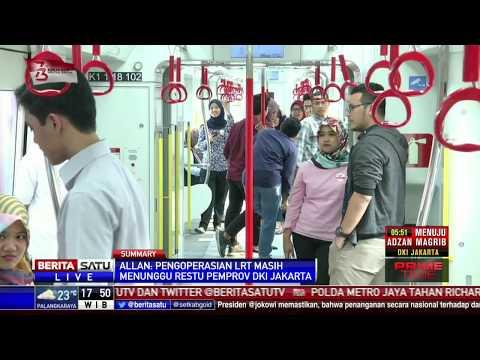 Proyek LRT Rawamangun-Kelapa Gading 90 Persen