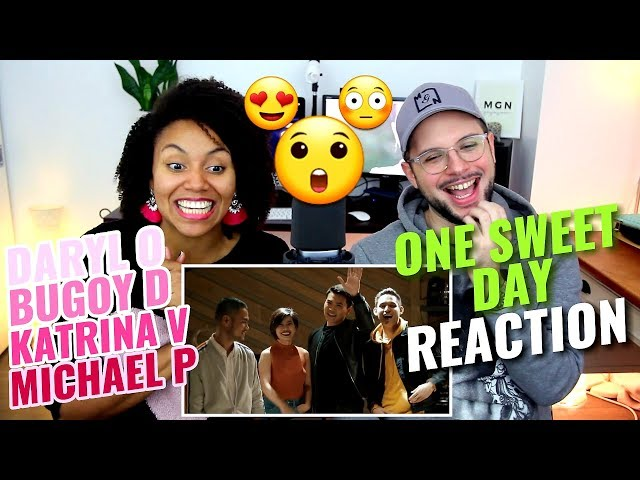 Daryl O, Katrina V, Bugoy D, Michael P - One Sweet Day   Cover   REACTION